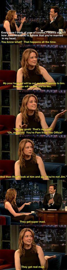 Pam & Jim!