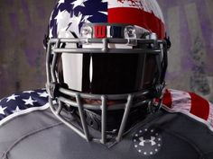 2013 Northwestern Wildcats Under Armour Uniform supporting the Wounded Warrior Project
