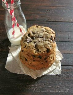 Ginger & Brown Butter Dark Chocolate Chunk Cookies