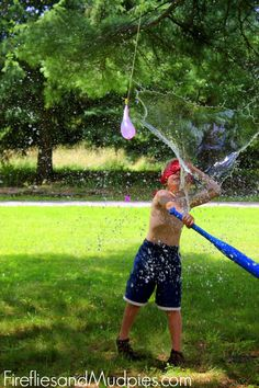 Water Balloon Bash- too fun not to try this Summer!