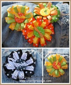 Crafty Ribbons | Hello wednesday - wear a bit of ribbon
