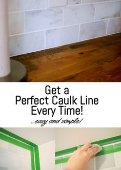 Get a Perfect Caulk Line Every Time! - Go Haus Go