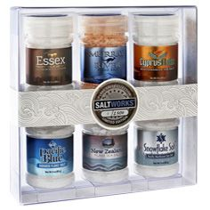 GIFTS FOR FOODIES: Limited Edition Flake Salt Collection