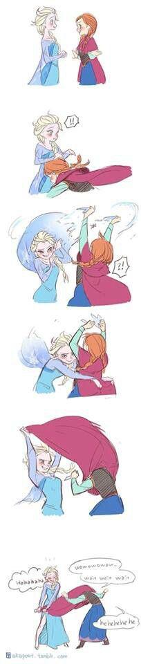 Elsa and Anna part 2