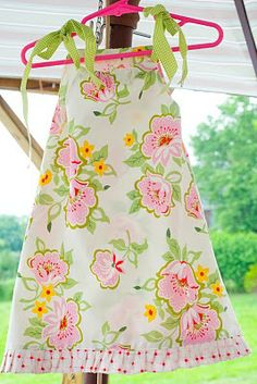 In Love with Pillow case dresses!!!