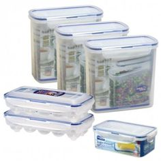 Lock & Lock Baking Supply Storage 12-Piece Set