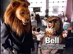 Bell's Long Distance Fables a Bell Canada commercial from 1988 A Bell Canada commercial featuring animatronic animal masks created Rick Lazzarini's Character Shop in 1988. http://www.character-shop.com/