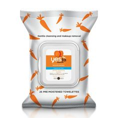 Yes to Carrots makeup-removing towelettes are now fragrance-free.  Great for travel!