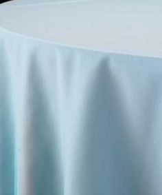 Pale blue napkins