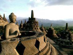 Indonesia - The Biggest Buddhist Temple borobudur #ConflictofPinterest