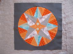 Love this paper-pieced star