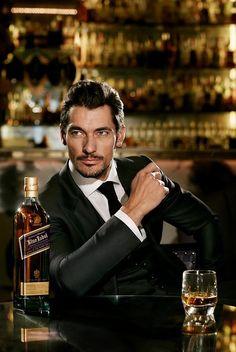 David Gandy for Johnnie Walker #Fashion #Style