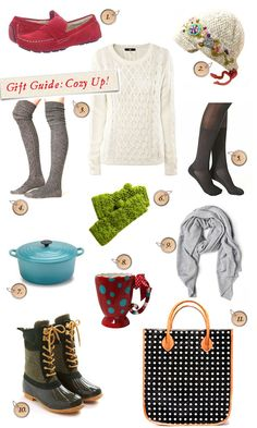 Cozy gift guide from Curly Girl Design