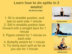 Do splits in 2 weeks! Not sure about the 2 weeks, but it's something to try!