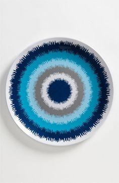 Jonathan Adler 'Ikat' Dinner Plate
