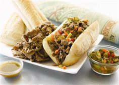 This is one of my favorite pics....  not so much my fav beef though.  You can see more Italian Beef pics and find any Italian Beef spot on our site, www.ItalianBeef.com
