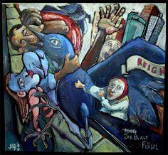 Der Blaue Flugel