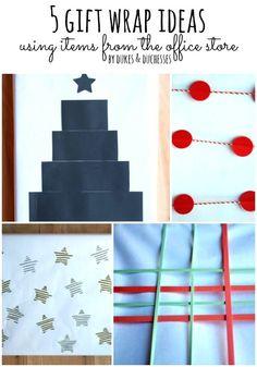 5 gift wrap ideas us