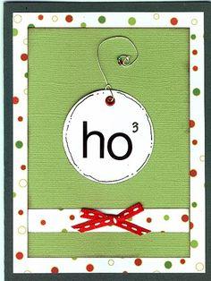 Cute Christmas card :-)