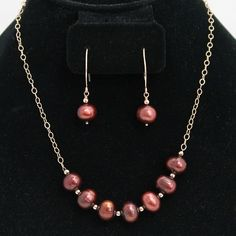 Marsala pearls and r