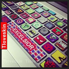 keyboard decal mac pro decals mac pro stickers decals by Tloveskin, $14.99