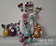 La Magia del Crochet: EL CONEJO VALENTÍN
