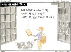 Don't talk about the products you sell, talk about the problems you solve. Customers want to know what you can do for THEM, not how great your products/services are.