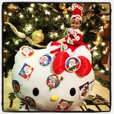 Sticker Crazy!!  Elf on the Shelf