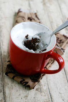 Chocolate Fluffernutter Mug Cake (Microwavable!)