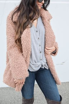 Teddy Coat + Winter