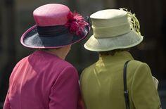 Lovely Ladies: Photo by Linda Davidson #Hats #Linda_Davidson