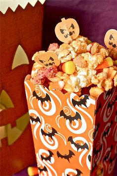 Monster Munch (Halloween Popcorn Mix)