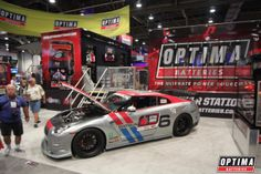 Steve Kepler's Nissan GT-R notched a top-ten finish in the 2013 #OUSCI