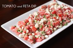 with an i.e.: Easy Appetizer Idea
