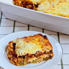 "Grilled Zucchini ""Lasagna"" Recipe with Italian Sausage, Tomato, and Basil Sauce (Grilled zucchini replaces the noodles for a lasagna that's low-carb, gluten-free, South Beach Diet friendly, and can be vegetarian if you use sauce without the sausage.)"