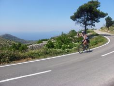 Wind with the #Croatian Coast on VBT's biking vacation in the #Dalmatian Islands.
