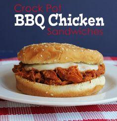crock pots, jami cook, food, dinner idea, crockpot bbq, slow cooker, recip, bbq chicken sandwiches, bbq sandwich crockpot