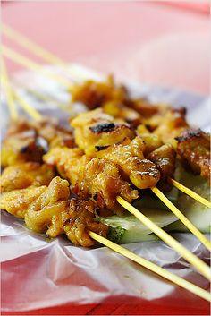 Malaysian Chicken Satay