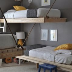 Suspension pallet beds - need an outdoor porch