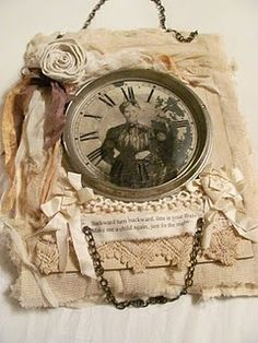 Use for old clock face