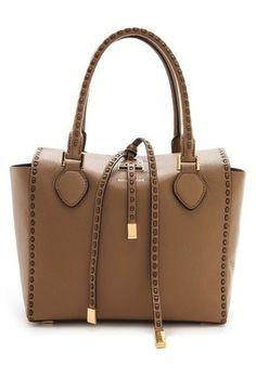 Michael Kors Collection Miranda Leather Stitch Tote #INLOVE
