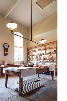 Downton Abbey style kitchen
