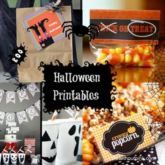 10 Halloween Printable Templates