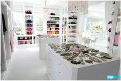 livin the glam life: Gorgeous Celebrity Closets