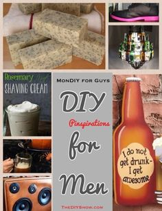 DIY for men gifts for men