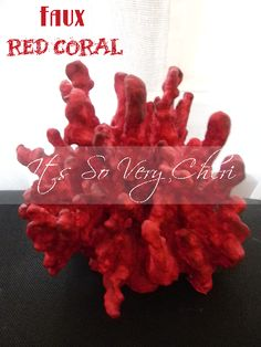 Cheri's Faux Red Coral
