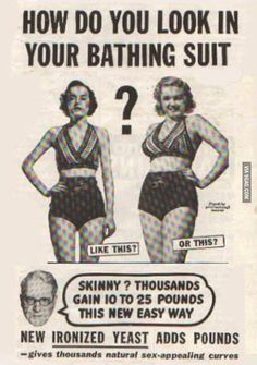 bathing, body images, real women, suit, thought, beauty, curv, weight gain, vintage ads