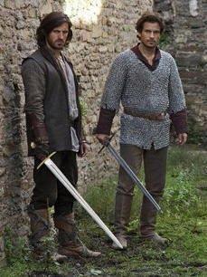 Gwaine and Lancelot