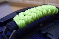 Paracord luggage handles