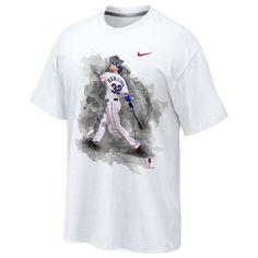 Texas Rangers Josh Hamilton #32 Player T-Shirt